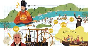 [역사 속 평행 이론]영·정조 르네상스 영조는 청계천을 준설하고, 와트는 증기기관을 개량하다